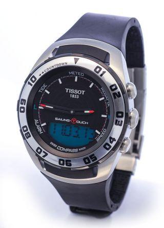 Nagelneu Tissot Armbanduhr Sailing - Touch 316l Regata Wetter T056.  420.  27.  051.  01 Bild