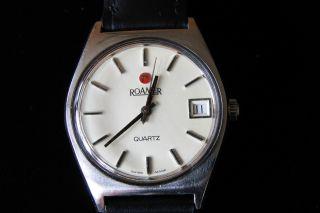 Herren Armbanduhr Roamer - Quartz 70er Jahre Bild