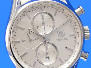 Tag Heuer Carrera Calibre 1887 Chronograph 41mm Car2111.  Ba0724 Lp.  4250€ Bild