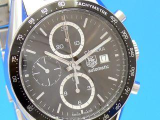 Tag Heuer Carrera Date Chronograph Juan Manuel Fangio Cv2010 - 4 Bild