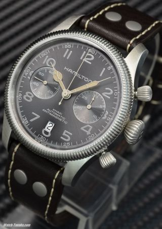 Hamilton Khaki Field Pioneer H60416583 Swiss Chronograph Eta H31 Saphirglas Bild