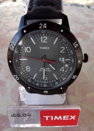 Coole Neue Timex Armbanduhr Weekender Sport,  Mod.  T2n897,  Herren - Uhr,  Herrenuhr Bild
