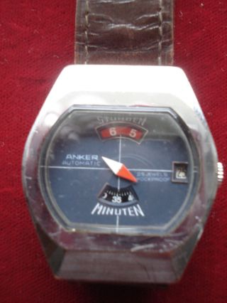 Herrenarmbanduhr,  Anker Automatic,  Digital,  Hb 313 Bild