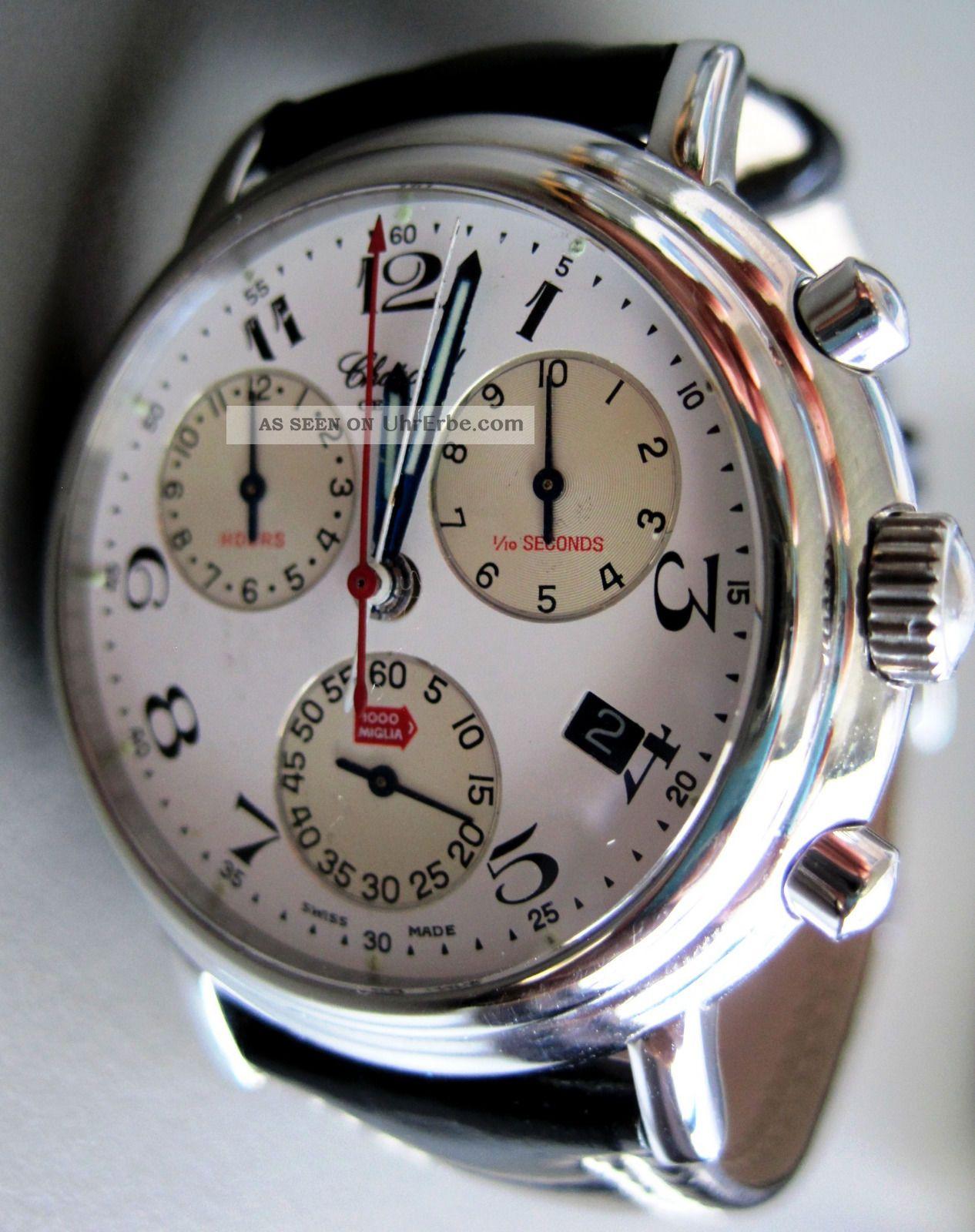 Chopard Mille Miglia Chronograph,  2 Zifferblätter,  Mit Box & Papieren Armbanduhren Bild