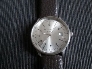 Herren Uhr Von Bergmann 1957 Rund Bild