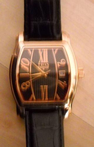 Trias Uhr - Herren - Automatik - Armband - Uhr Mit Datumsanzeige Nr.  T23258 - 190 Bild