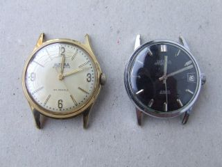 Zwei Bifora Armbanduhren - 1 X Handaufzug U.  1 X Automatik - Made In Germany Bild
