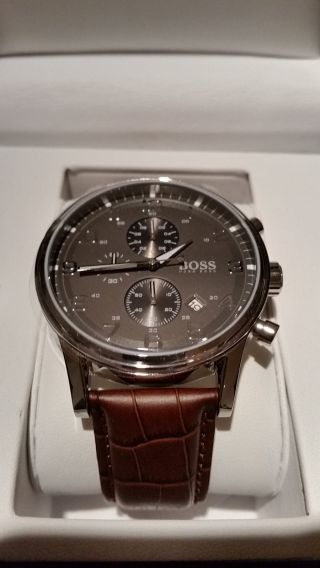 Hugo Boss Chronograph 1512570 Ovp Bild