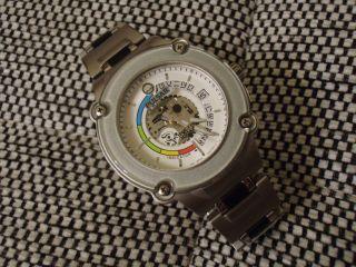 Pulsar Seiko Corp Kinetic Herren Uhr 100m 5m42 - 0h60 B5 10bar Bild