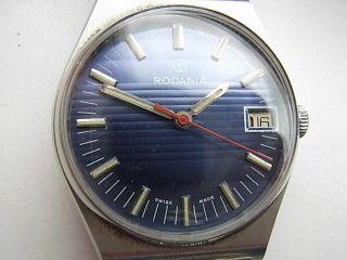 Herren Armbanduhr Rodania Swiss Handaufzug Bild