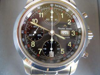 Maurice Lacroix Herrenuhr Automatik Chronograph Day Date N.  : 39721 Bild