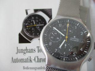 Junghans Tourneur Automatik - Chronograph - Edelstahl.  Herrenuhr Bild