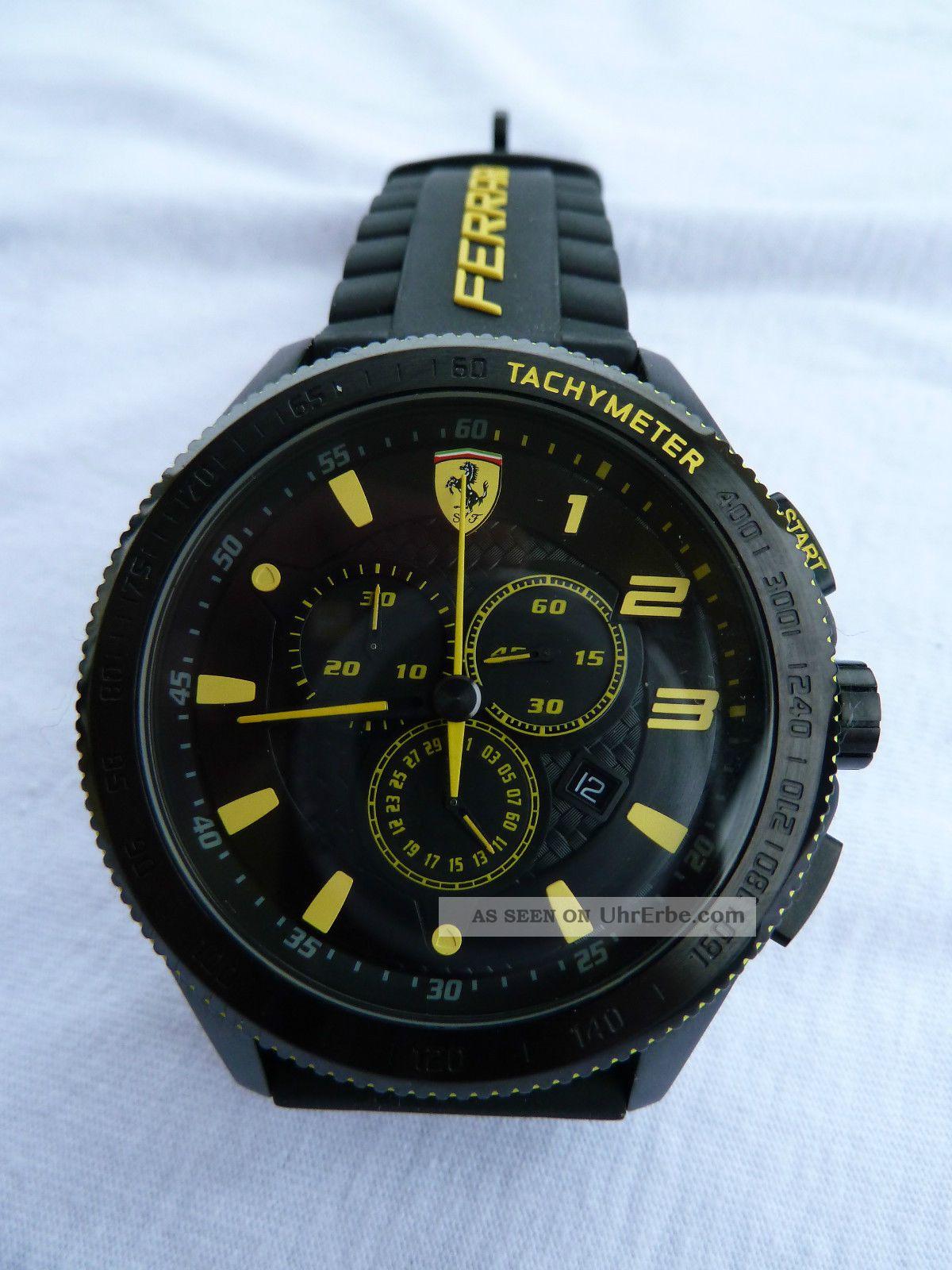 Ferrari Scuderia Xx Chronograph 0830139,  Herrenuhr,  Ovp, Armbanduhren Bild