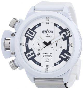 Welder Von U - Boat K24 Übergroßen Chronograph Weiß Herren Armbanduhr K24 - 3311 Bild