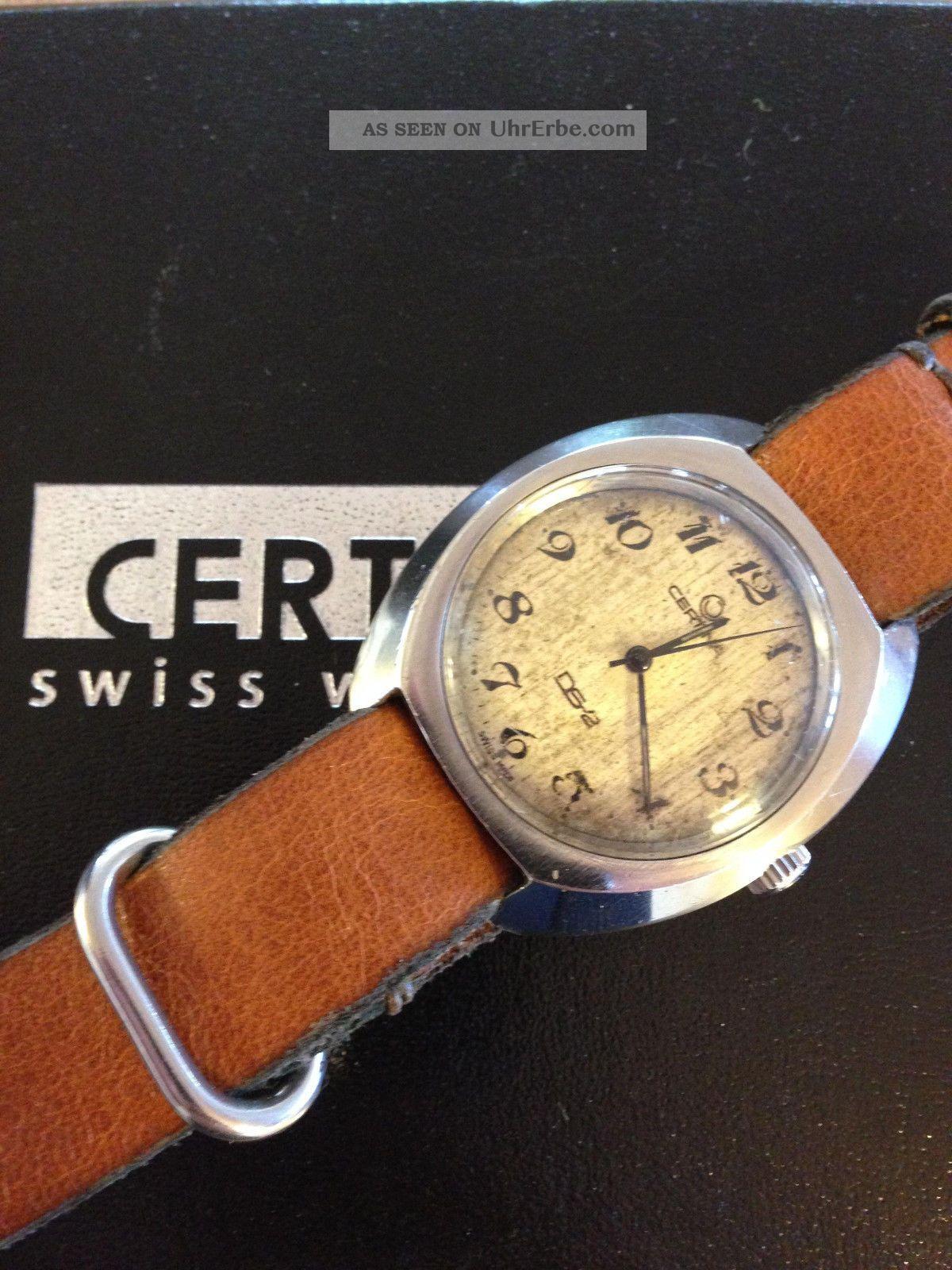 Certina Ds - 2 Vintage Taucher Diver Herrenuhr 1970s Armbanduhren Bild