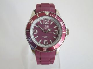 Tom Watch,  Cranberry Red,  44 Mm,  Wa00071 Bild