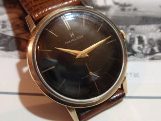 Hamilton - Usa - Lancaster.  Pa - Armbanduhr Von 1950 Er Bild