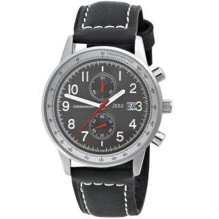 Jobo Herren Uhr Armbanduhr Uhr Quarz Chronograph Edelstahl Armbanduhr J - 37288 Bild