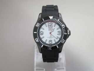 M Watch,  Black White,  44 Mm,  Wa00110 - 1 Bild