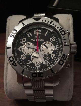 Tw Steel Tw70 Armbanduhr Für Herren Chronograph Diver - Bild