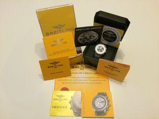 Breitling Navitimer Olympus Ref.  A19350.  Komplettes Full Paket Bild