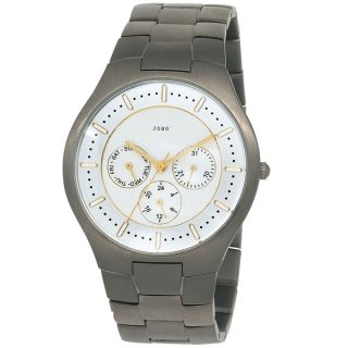 Jobo Herrenuhr Titan Herrenarmbanduhr Uhr Quarz - Analog Armbanduhr J - 39319 Bild