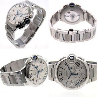 Herren Armbanduhr Cartier W6920002 Ballon Bleu Xl Automatisch Stoppuhr Bild
