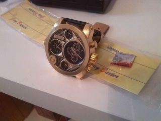 - Uhr - 3x Uhrwerk Xxxl - Tend - Kult - Uhr 5,  3cm Breit Bild