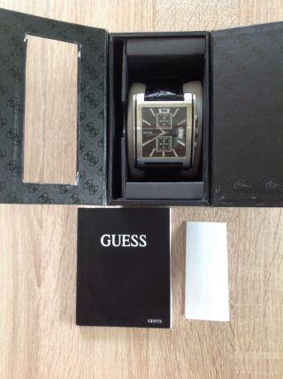Guess Herrenuhr Armbanduhr Leder Top Guess Armbanduhr Bild