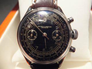 Baume Mercier Chronograph Von Ca.  1940/1950 Bild