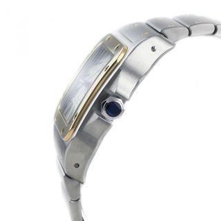 Cartier Herren Armband Uhr W200728g Santos 18k Gelb Gold / Stahl Bild