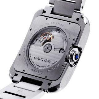 Herren Armbanduhr Cartier W5310008 Tank Anglaise Xl Automatik Stahlarmband Bild