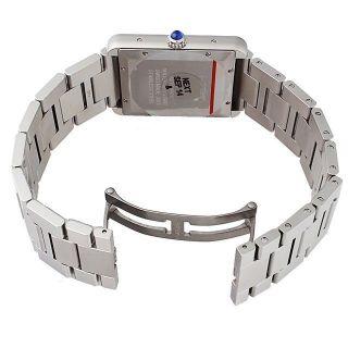 Cartier W5200028 Tank Solo Xl Herren Automatische Armbanduhr Edelstahl Uhr Bild