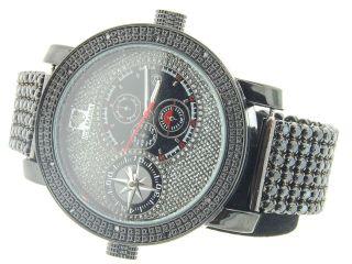 Mann - Eis Manie Jojino Rodeo - Diamant - Uhr 6row Bedruckte Band 2 Zeitzone Im2012 Bild