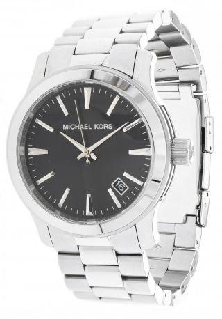 Michael Kors Herren Armbanduhr Silber Mk7052 Bild