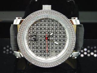 Mann - Eis Manie Jojo Vereisungs Jojino Joe Rodeo - Diamant - Uhr Weiße Im1104 Bild