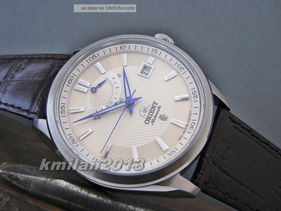 Orient Uhr Vintage Automatik Herrenuhr Mit Power Reserve Ffd0f004w0,  Ffd0f002b0 Armbanduhren Bild