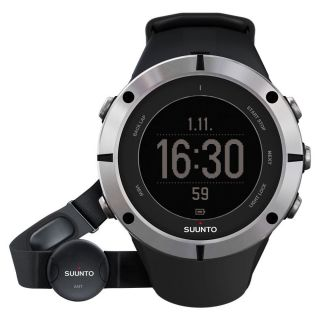 Suunto Herren - Gps - Uhr,  Digital,  Schwarzes Zifferblatt & Uhrenarmband,  Ss019183000 Bild
