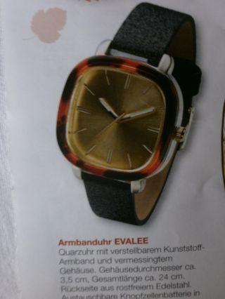 Armbanduhr Evelee,  Marke Avon,  Quarzuhr Mit Vermessingtem Gehäuse,  Batterie, Bild