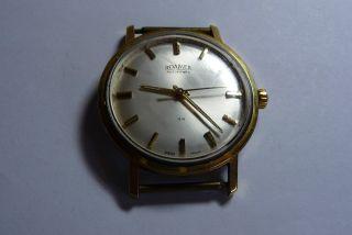 Roamer Rotopower 44 Herren Automatik Armbanduhr Plaque G 20 Bild
