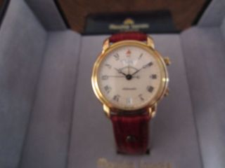 Maurice Lacroix Masterpiece Calendrier Retrograde Armbanduhr Für Herren. Bild
