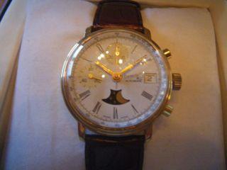 Wunderschöner Eberhard & Co Chronograph Mit Valjoux 7750,  Limitiert Bild