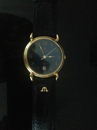 Maurice Lacroix Armbanduhr Schwarz - Moderne Ziffern Mod.  92124 Bild