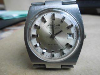 Glashütte Spezimatic Armbanduhr Edelstahl Bild