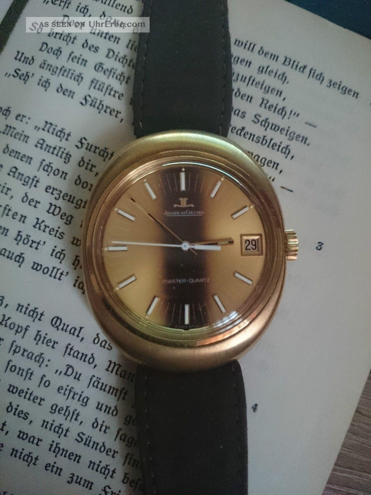 Jaeger Lecoultre Master - Quartz Armbanduhren Bild