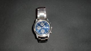 Lorus Armbanduhr Herrenuhr - Vom Uhrmacher überprüft - Chronograph - V657 - X052 Bild
