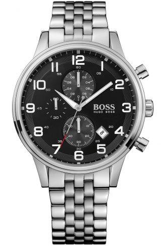 Hugo Boss Black Uhr 1512446 Edelstahl/ Herrenuhr Bild
