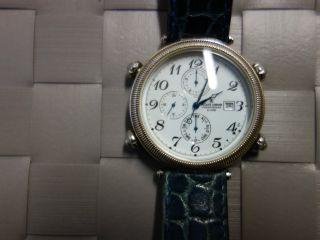 Jacqes Jaques Lemans Chronograph - 756 Alarm,  Datum,  Multifunktionsuhr - Gut Erh. Bild