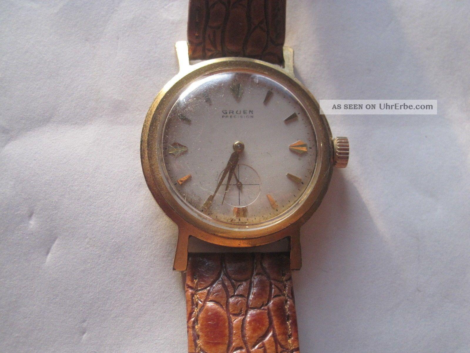 Gruen Armbanduhr Armbanduhren Bild