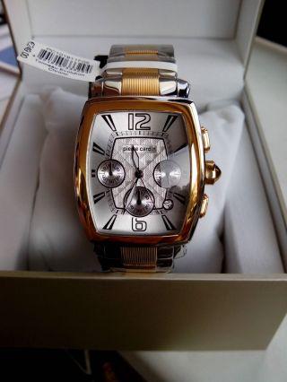 Tolle Pierre Cardin Herren - Armbanduhr Tonneau Evolution Chrono Neu&top Np:249€ Bild